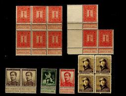Belgique (1912-20)  Lot Albert Ier   Neufs** - MNH - Nuovi