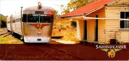 (2 A 23) Australia ? - Train - Savannah Lander (21 X 10 Cm) - Stations - Met Treinen
