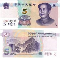 China 5 Yuan 2020 UNC - China