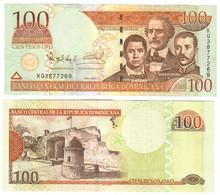 Dominican Republic 100 Pesos 2004 UNC - Dominicana