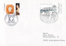 Germany Cover Posted Stuttgart 2003 119 Jahre Zahnradbahn  (DD28-47) - Trenes