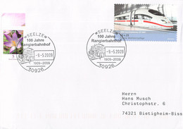 Germany Cover Posted Seelze 100 Jahre Rangierbahnhof  (DD28-47) - Trenes