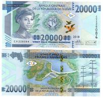 Guinea 20000 Francs 2018 UNC - Guinea