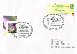 Germany Cover Posted Barnstorf 2010 Mit Jan Spieker Durch Das Huntetal (G115-69A) - Trenes