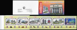 Korea 2012. Buildings In Moscow And Pyongyang (MNH OG) StampPack - Korea (Noord)
