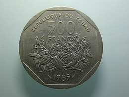 Chad 500 Francs 1985 - Chad