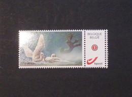 A.Buzin Mystamp Knobbelzwaan Zelfklevend - Personalisierte Briefmarken