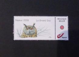 A.Buzin Mystamp Le Grand Duc Namur 2018 - Personalisierte Briefmarken