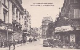 Clermont Ferrand Le Théâtre Et La Préfecture - Clermont Ferrand