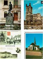10 / AUBE / Lot De 90 C.P.M. écrites - 5 - 99 Postcards