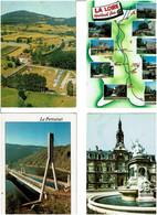 42 / LOIRE / Lot De 90 C.P.M. écrites - 5 - 99 Postcards