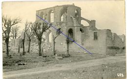 Allemande Carte Photo - Feindesland Zerstörte Kirche - église Détruite - Flandern ?   WWI 14/18 - 1914-18
