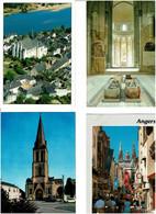 49 / MAINE & LOIRE / Lot De 90 C.P.M. écrites - 5 - 99 Postcards