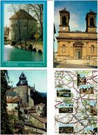 55 / MEUSE / Lot De 90 C.P.M. écrites - 5 - 99 Postcards