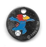 Jeton De Caddie  Sport  Foot-ball, Coupe Du Monde  FRANCE 98  Recto  Verso - Einkaufswagen-Chips (EKW)