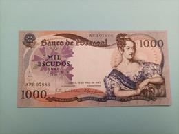 Billete De PORTUGAL 1000 ESCUDOS , Año 1967, UNCIRCULATED - Portugal
