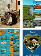 NORD - CÔTE D'OPALE / Lot De 45 C.P.M. écrites - 5 - 99 Postcards