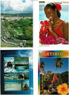 972 / MARTINIQUE / Lot De 79 C.P.M. écrites - 5 - 99 Postcards