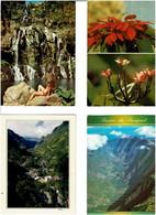 974 / REUNION / Lot De 53 C.P.M. écrites - 5 - 99 Cartoline