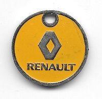 Jeton De Caddie  Ville, Automobiles  RENAULT  Verso  G. BOURDEAU  Agent  RENAULT  17600  MEDIS - Einkaufswagen-Chips (EKW)