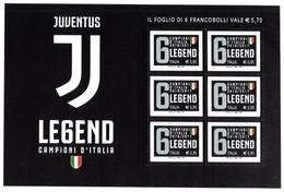 Italia 2017 Juventus Campione Foglietto 6 Valori Nuovo Perfetto - Blocks & Sheetlets