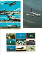 AVIONS / Lot De 45 C.P.M. écrites - 5 - 99 Postcards