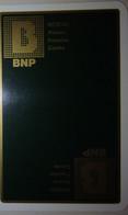 Petit Calendrier Poche 1982 Banque Nationale De Paris BNP Alsace Franche Comté - Format Carte Bleue - Small : 1981-90
