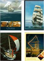 BATEAUX / Lot De 90 C.P.M. écrites - 5 - 99 Postcards