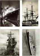BATEAUX / Lot De 73 C.P.S.M. écrites - 5 - 99 Postcards
