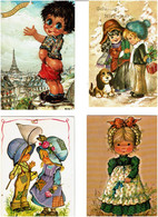 ENFANTS - DESSINS / Lot De 85 C.P.M. écrites - 5 - 99 Postcards