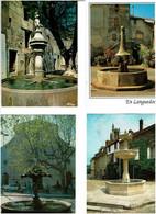 FONTAINES / Lot De 50 C.P.M. écrites - 5 - 99 Postcards