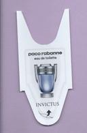 PACO RABANNE  * INVICTUS  * - Profumeria Moderna (a Partire Dal 1961)