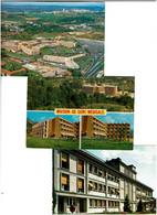 ETABLISSEMENTS HOSPITALIERS / Lot De 45 C.P.M. écrites - 5 - 99 Postcards