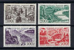 FRANCE Poste Aérienne 1949: Les Y&T 24-27 Neufs**, Forte Cote,   TTB - 1927-1959 Postfris