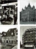 HÔTELS - RESTAURANTS / Lot De 62 C.P.S.M. écrites / Noir & Blanc - 5 - 99 Postcards