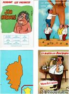 HUMOUR / Lot De 90 C.P.M. écrites - 5 - 99 Cartoline