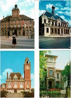 MAIRIES - HÔTELS DE VILLE / Lot De 90 C.P.M. écrites - 5 - 99 Postcards