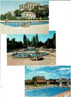PISCINES / Lot De 60 C.P.M. écrites - 5 - 99 Postcards