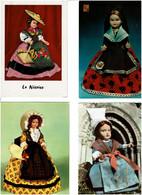 POUPEES / Lot De 45 C.P.M. écrites - 5 - 99 Postcards