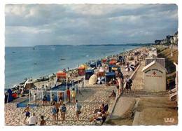JULLOUVILLE --1965--La Plage à Marée Haute Et La Piscine (poste De Secours) ..très Animée........à Saisir - Altri Comuni
