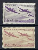 FRANCE Poste Aérienne 1934: Le Y&T 7 Neuf*, 2 Nuances - 1927-1959 Postfris