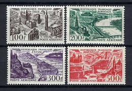 FRANCE Poste Aérienne 1949: Les Y&T 24-27 Neufs* - 1927-1959 Postfris