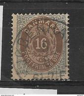 DANEMARK  N° 26B OBLITERE - Used Stamps