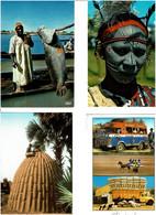 AFRIQUE / Lot De 90 C.P.M. écrites - 5 - 99 Postcards