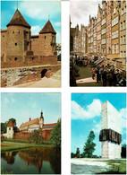 POLOGNE / Lot De 54 C.P.M. écrites - 5 - 99 Postcards