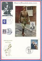 BELLE COLLECTION PRESENTEE SUR 68 PAGES DE PRESENTATION THEME GENERAL DE GAULLE AVEC NON DENTELES ENVELOPPES... - De Gaulle (Generale)