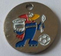 Jeton De Caddie - Sport - Foot-ball - Coupe Du Monde 1998 - Danone - En Métal - Neuf - - Einkaufswagen-Chips (EKW)