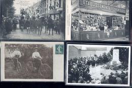 MARNE  SUBERBE  LOT D ENVIRON 27000 CARTES POSTALES - 500 Postcards Min.