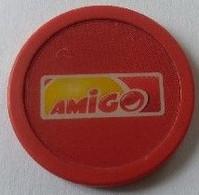 Jeton De Caddie - AMIGO - En Plastique - - Einkaufswagen-Chips (EKW)