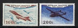 FRANCE Poste Aérienne 1954: Les Y&T 30-31, Neufs** - 1927-1959 Postfris